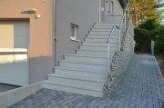 Diese Treppe haben wir in Wesseln bei Hildesheim aufgebaut