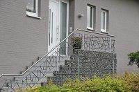 Treppengeländer mit Schmitzstruktur