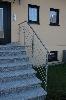 Treppengeländer aus Edelstahl in Selbstmontage
