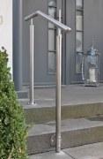 Eingangs Geländer aus Edelstahl