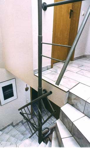 Ein extravagantes Treppengeländer