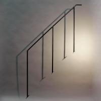 Treppengeländer aus 20 mm Vollmaterial
