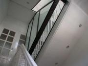 Treppenhausabtrennung mit einer Glastrennwand vom Feinsten