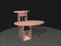 Entwurf und Visualisierung eines Tresen
