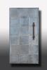 Haustürbekleidung und Türgriff aus Stahl