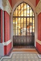 Nachbau einer historischen, gußeiserenen Türe
