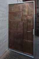 Handgeschmiedete Kupfertüre