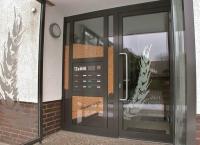 Windfang und Eingang