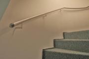 Treppengeländer und Handlauf aus Edelstahl