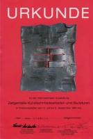Internationale Ausstellung Zeitgemäße Kunstschmiedearbeiten und Skulpturen