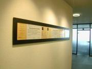 Genial einfach - einfach genial: Bilder Rahmen aus Stahl und Glas für Urkunden