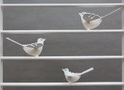 Attraktives  Vogelgitter feuerverzinkt und lackiert