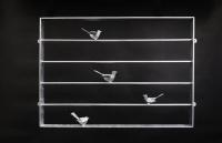Der Einbruchschutz - Vogelgitter aus Stahl geschweißt und feuerverzinkt