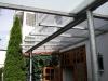 Terrassendach aus feuerverzinktem Stahl und Sicherheitsglas