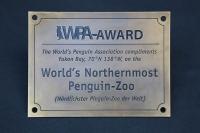 WPA Award, der nördlichste Pinguin Zoo der Welt,  antik brüniert