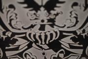 Wappen auf Tombak