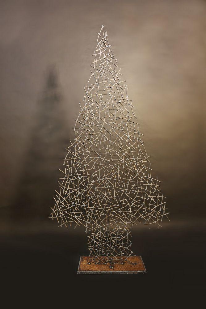 oh du fr hliche weihnachtsbaum aus 5 mm rundeisen. Black Bedroom Furniture Sets. Home Design Ideas