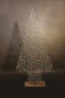"""""""Oh Du fröhliche..."""" Weihnachtsbaum aus 5 mm Rundeisen"""