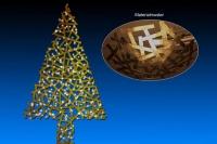 Entwurf eines Metall Tannenbaum