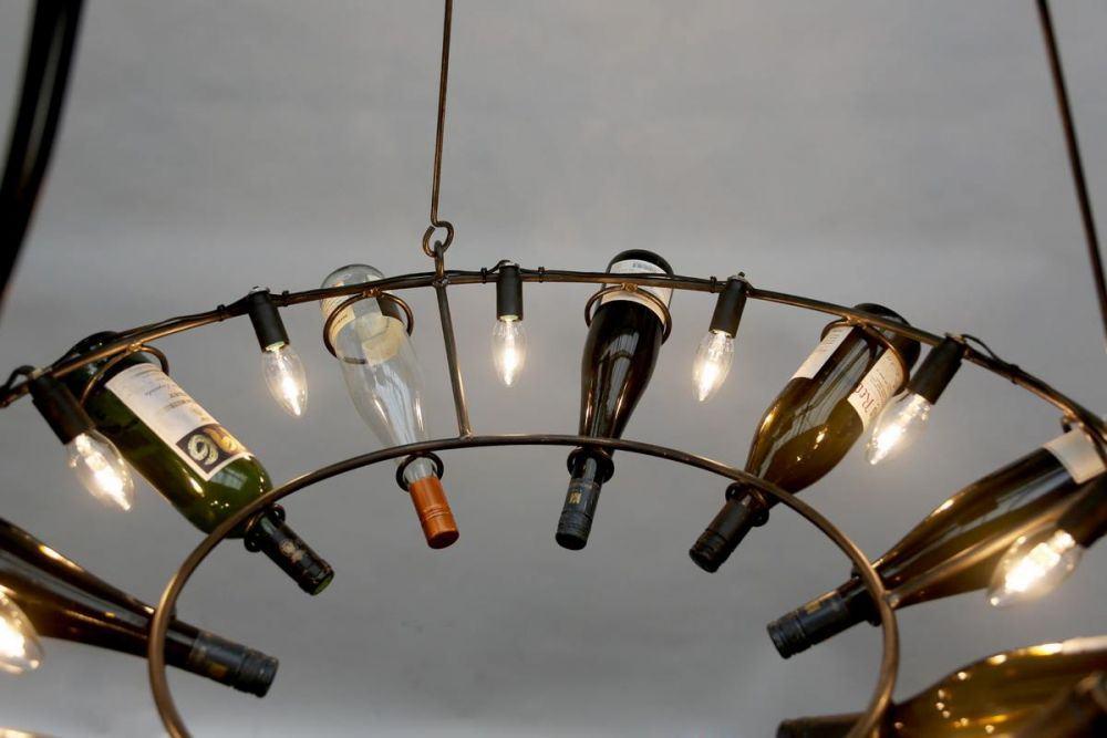 aus Weinflaschen