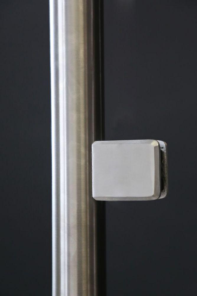 wind und sichtschutz aus edelstahl und sicherheits glas. Black Bedroom Furniture Sets. Home Design Ideas