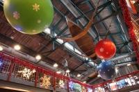 Market Hall im Yukon Bay im Winter-Zoo Hannover