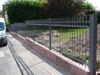 Zaun für eine liebevoll renovierte Stadtvilla
