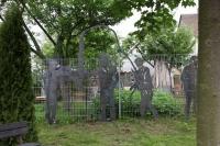Tolle Zaunskulpturen für die Spocon GmbH aus 3mm Stahlblech plasmageschnitten