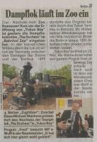 schöner Bericht in der Bild Zeitung am 4.5.10 über die Duchess im Zoo Hannover