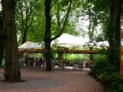 Eingangsanlage mit Überdachung Zoo Hannover