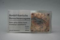 Tierbeschilderung aus Edelstahl für den Zoo-Hannover