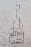 Stillleben - Zwei Weinflaschen und eine Jeroboam-Magnum