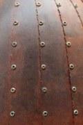 Pendelleuchte aus rostigem Stahl