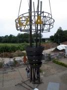 Probeaufbau der Info Stele Alexa in Hildesheim