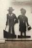 Alte Liebe rostet nicht - Skulpturenpaar für den Garten