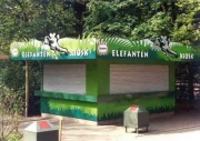 Elefantenkiosk für den Zoo Hannover