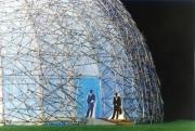 Zeitdome Weimar, Architektur Modell für eine Kunstausstellung