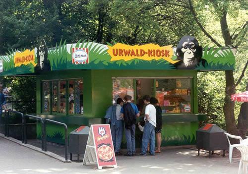 Zoo Hannover - Urwaldkiosk