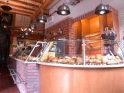 Tresen im Bäckeramtshaus am historischen Marktplatz in Hildesheim