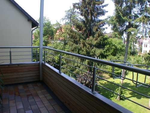 balkongel nder aus edelstahl mit halterungen f r. Black Bedroom Furniture Sets. Home Design Ideas