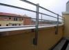 Balkongeländer für die Baugenossenschaft Wiederaufbau, Stahl verzinkt