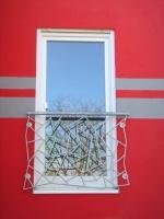 französisches Balkongeländer mit Schmitz Struktur, Preis per laufenden Meter