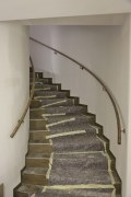 Bronzehandlauf für eine gewendelte Treppe