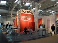 Messestand für Camos auf der CeBit 2003