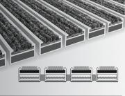 Fußmatte Clean Ryps Detailansicht / Schnitt