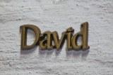 """Der Name David hat unter anderem auch die Bedeutung  """"der Liebling """"."""