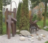 Der steinige Weg im Garten der SOCON SONAR CONTROL Kavernenvermessung GmbH in Emmerke