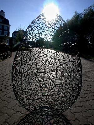 """Skulptur für die """"Deutsche Bank"""" in Shanghai"""