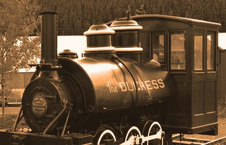 The Duchess - die Original Lok vom Yukon Bay