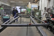 24.03.2010 Die Unterkonstruktion der Hänger wird zusammen geschweißt